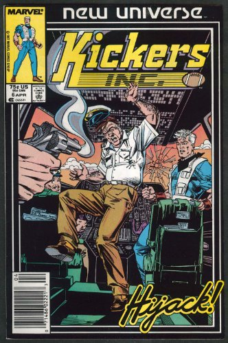 KICKERS INC #6 Marvel comic book 4 1987 - Kicker Frog