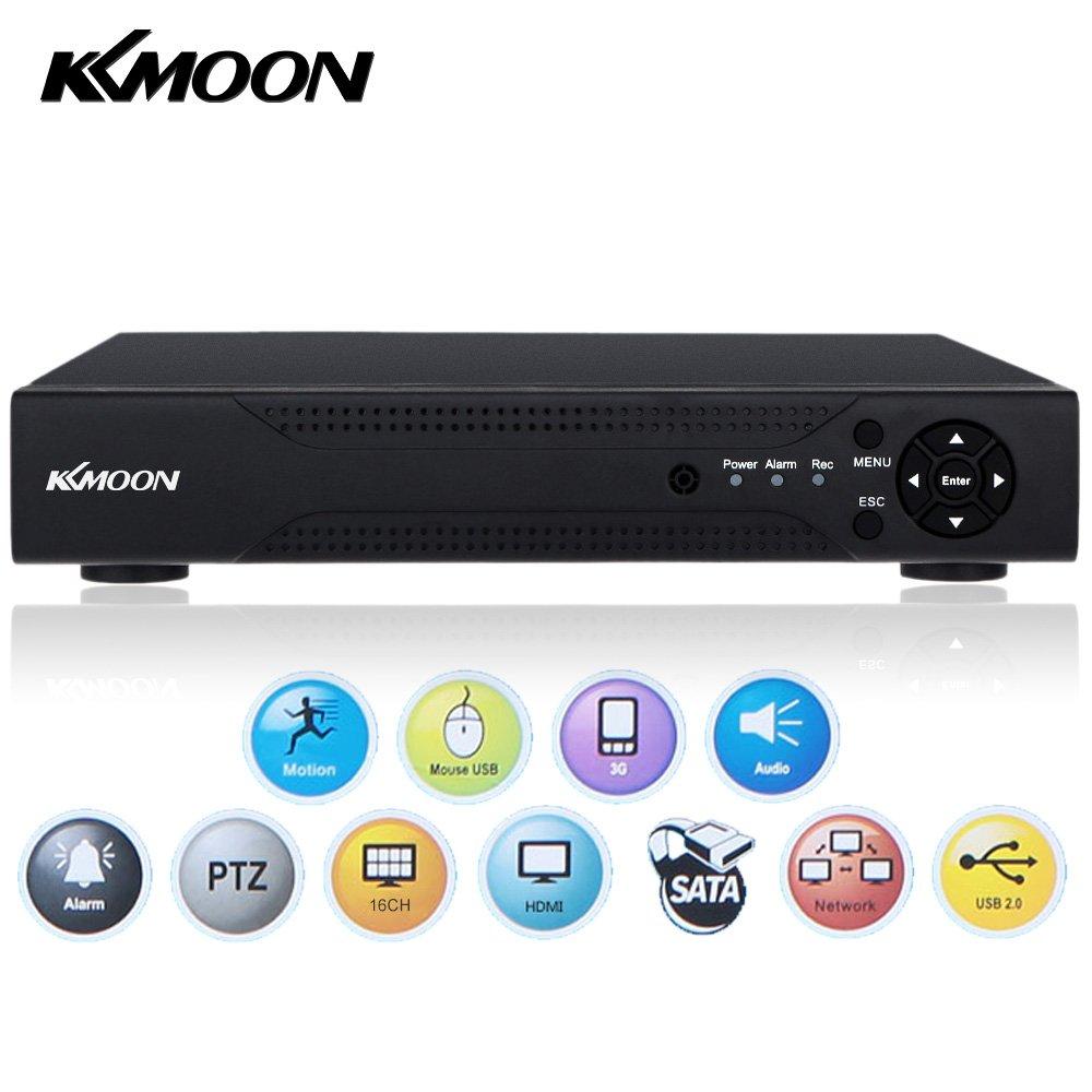 KKmoon 16 Canali 720P Videoregistratore DVR CCTV Standalone Analogica ad Alta Definizione H.264 HDMI Sistema di Sicurezza Domestica