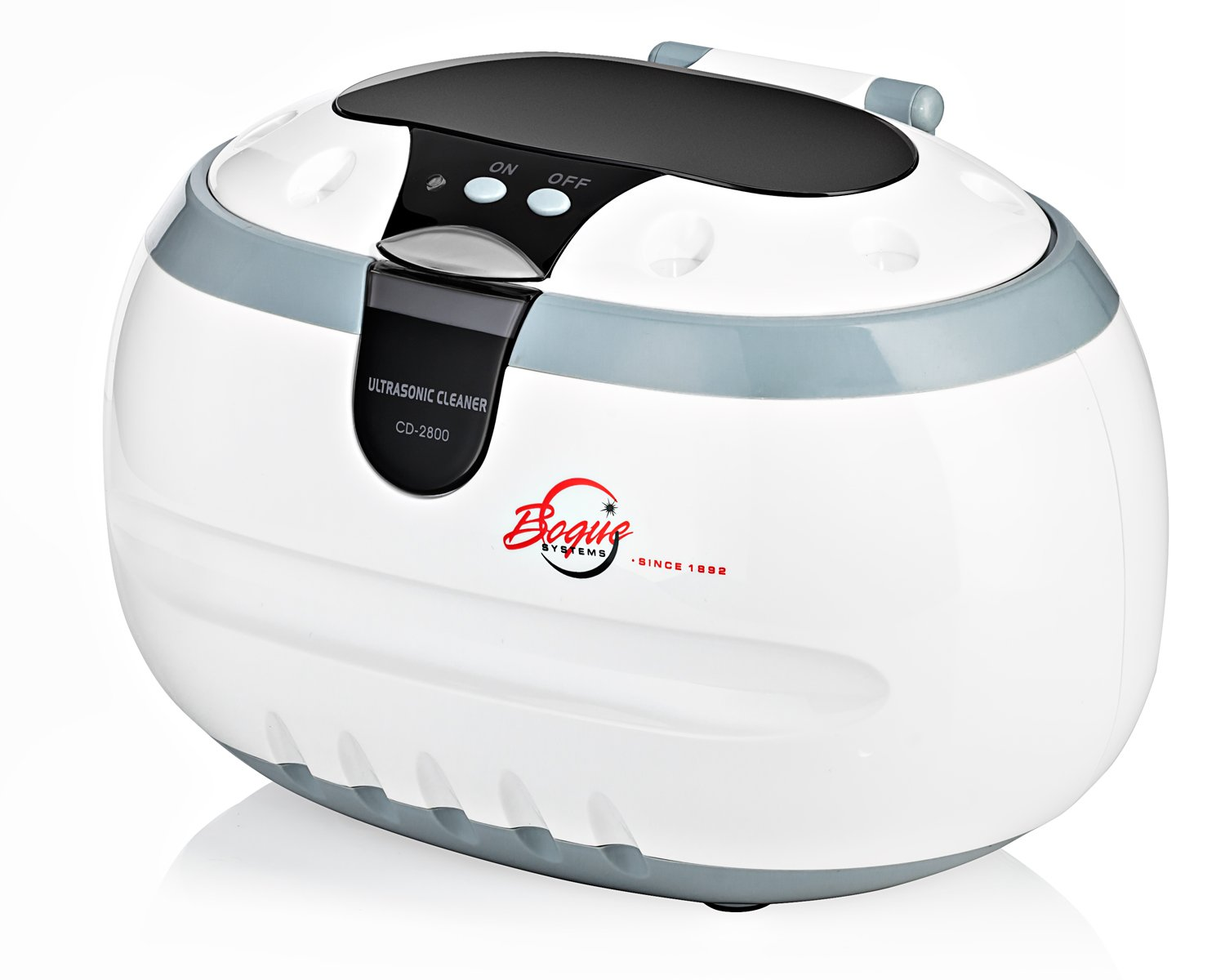 Bogue Systems - Professional Ultrasonic Cleaner (BJC-1259 / CD-2800) - Cleans Jewelry, Optics, Eyeglass, and Other Delicate Items