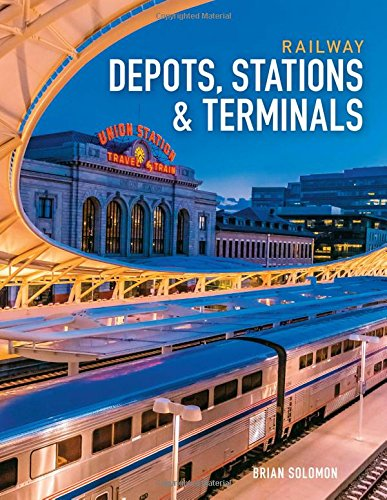 Railway Depots, Stations & Terminals (Depot Train Postcard)