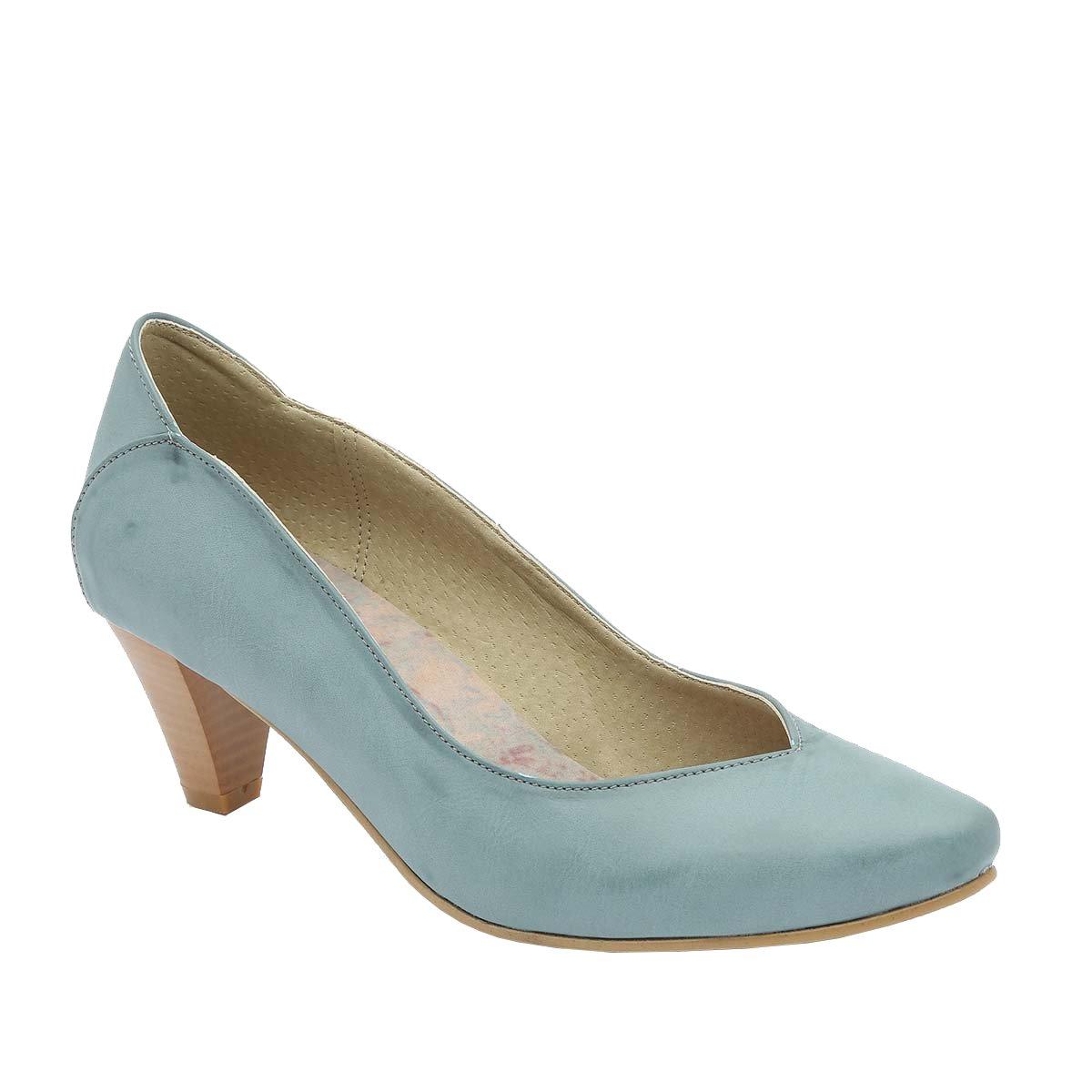 B-Unique - Zapatos de Vestir para Mujer Multicolor 39 1/3 EU