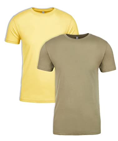 a2e13e54 Next Level NL3600 100% Cotton Premium Fitted Short Sleeve Crew 1 Banana  Cream + 1