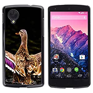 Stuss Case / Funda Carcasa protectora - Duck Pond Nature Spring Bird Water - LG Google Nexus 5 D820 D821