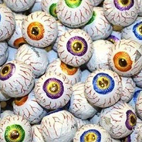 Creepy Peepers Peanut Butter Filled Chocolate Eyeballs 1LB -