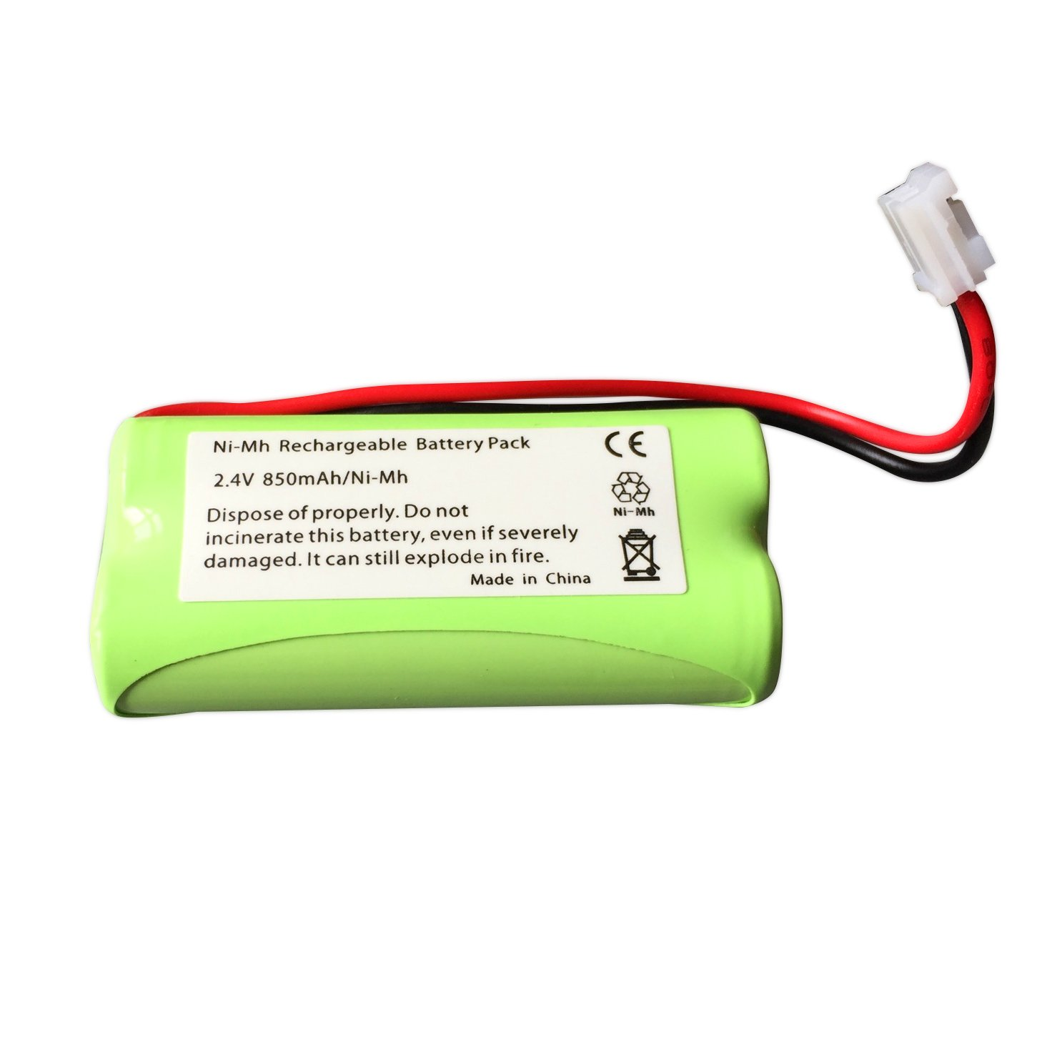 ABC Products® Replacement Tomy Rechargeable Battery Pack LP175N / TP71028B for TD300, TD350, TF525 Digital Plus Baby Infant Monitor etc