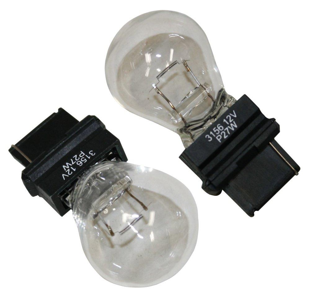 Aerzetix - 2 x bulbs 12V 27W W2.5 x 16D P27W High Quality-Made in Germany . 3800946163770