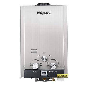 caliente calentador de agua instant/áneo caldera de acero inoxidable iglobalbuy 12L casa GLP calentador de gas caliente