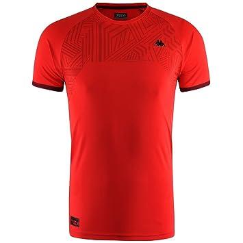 Kappa Swan Camiseta, Hombre, Rojo, S