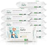ECO by Naty Baby Wipes with Aloe Vera, 12 packs of 56 (672 Count)
