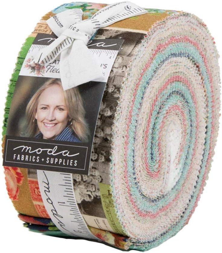 Flea Market Mix Jelly Roll by Cathe Holden for Moda Fabrics 7350JR