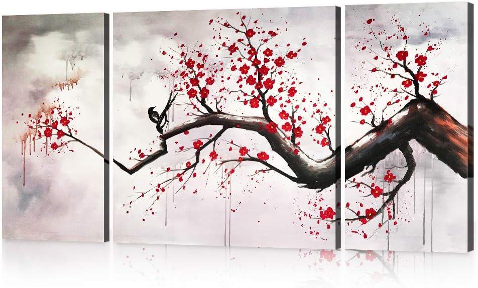 Cherry Blossom Tree Wall Decor from images-na.ssl-images-amazon.com