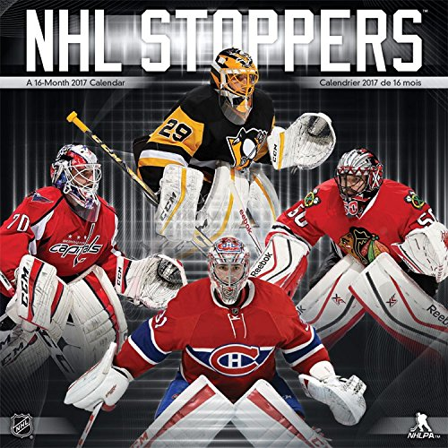 NHL Stoppers Calendar 2017 -- Deluxe NHL Stoppers Wall Calendar (12x12)