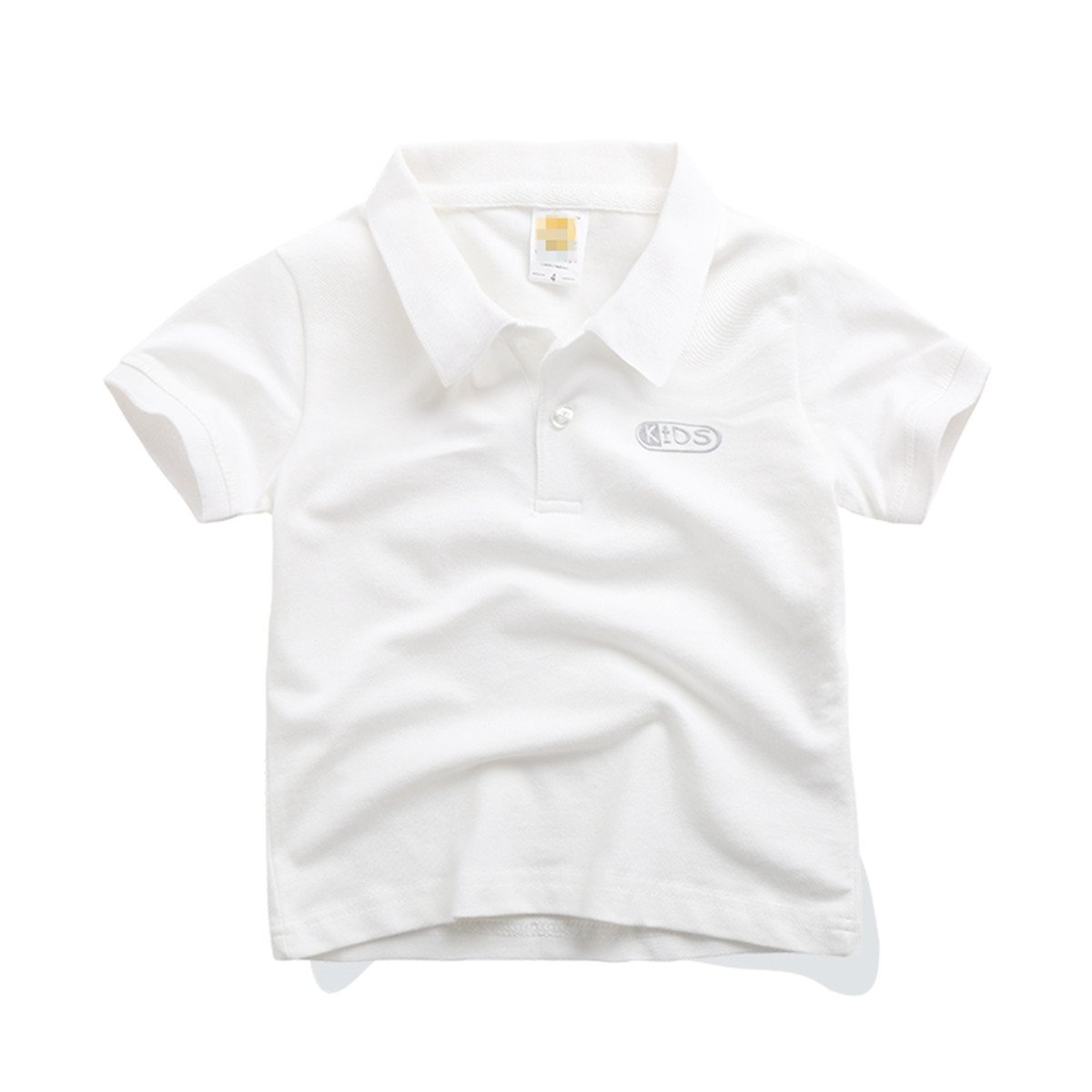 Ding-dong Baby Kid Boy Girl Short Sleeve Solid Polo Shirt