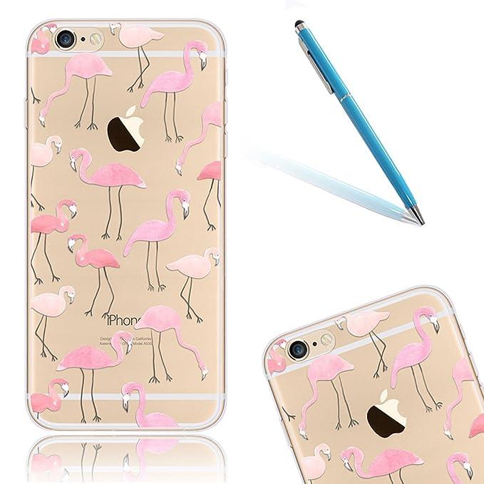 1 opinioni per CLTPY Custodia per iPhone 6/6s, Cute Cartone Animato Fiore Pattern Disegno Serie