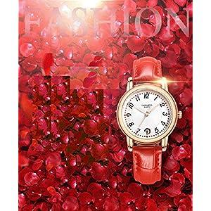 ChezAbbey Elegant Women' s Ladies' watches Waterproof Analog Clock Date Display Round Dial Quartz Watch
