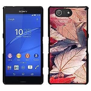 """For Sony Xperia Z3 Compact , S-type Planta Naturaleza Forrest Flor 49"""" - Arte & diseño plástico duro Fundas Cover Cubre Hard Case Cover"""