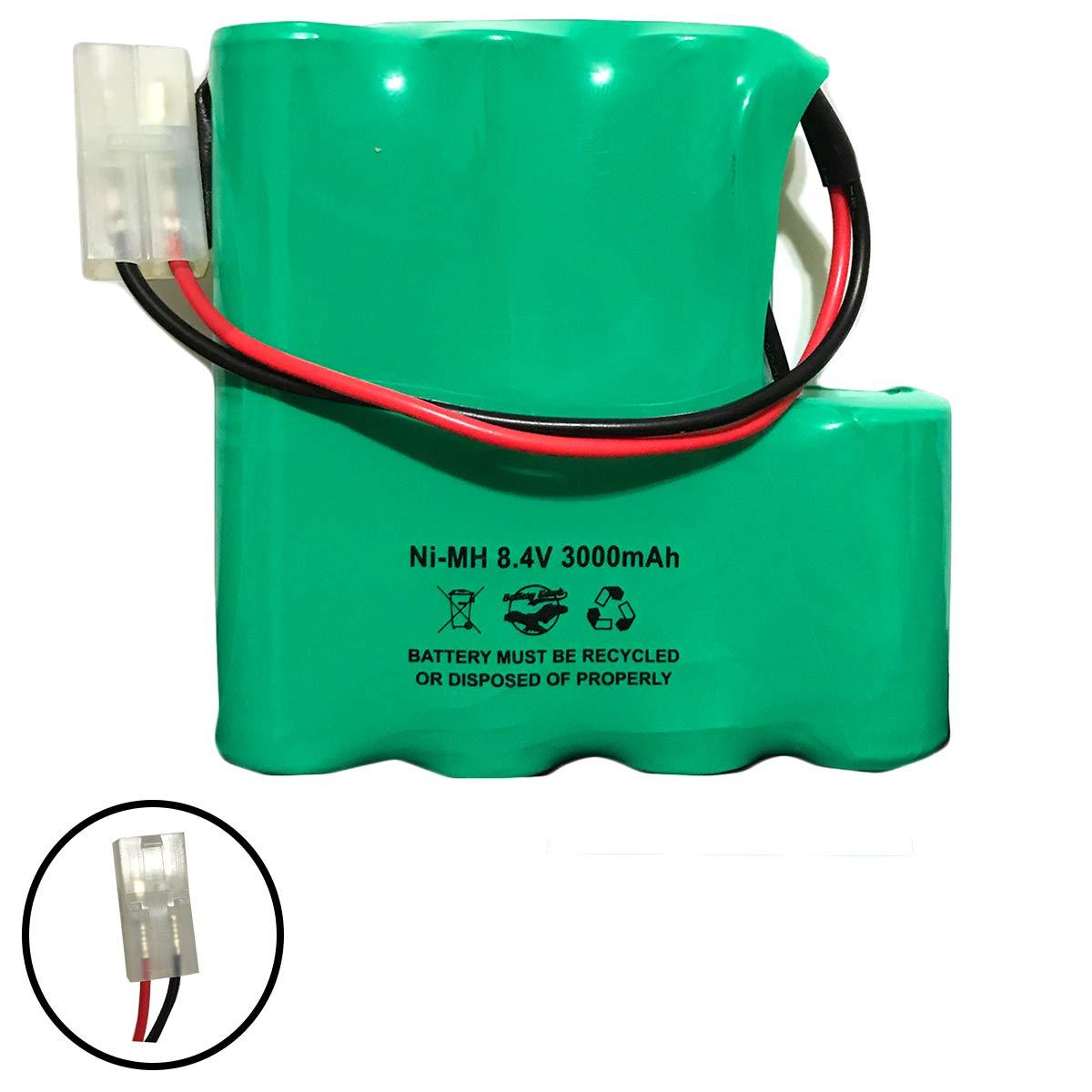 PBA007 Pool Buster MAX CS-PBS007VX 8.4v 3000mAh Ni-MH Battery Pack Replacement 7C2219MF 10142A007 3937 MEGATECH PBA007-C by Batteryhawk, LLC