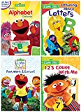 Sesame Street: Elmo's Alphabet Challenge/Learning About Letters/Elmo's World: Food, Water & Exercise/123 Count with Me