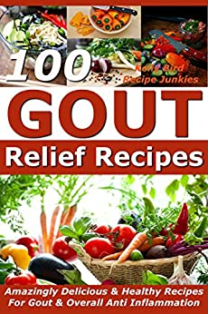 Gout Relief Recipes Amazingly Inflammation ebook product image