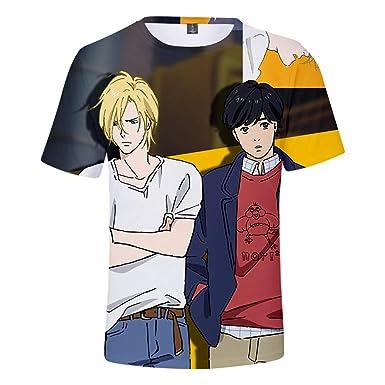 3f0dc334 Amazon.com: Fowii T-Shirts Men Women Unisex 3D Print Pattern Tops ...