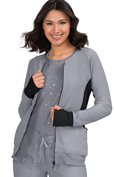 Amazon.com: KOI lite 445 Clarity Scrub - Chaqueta para mujer ...