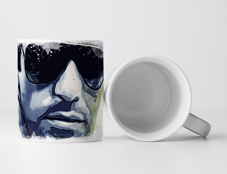 Al Pacino Scarface Tasse als Geschenk, Design Sinus Art: Amazon.de ...