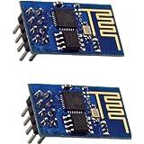 GeeBat ESP8266 Serial WIFI Wireless Transceiver Module ESP-01 Support LWIP AP STA for Arduino UNO R3 Mega2560 Nano Pack of 2pcs