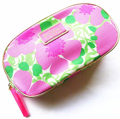 Floral Lilly (Estee Lauder Lilly Pulitzer Designer Floral Cosmetic Makeup Bag 2013 New)