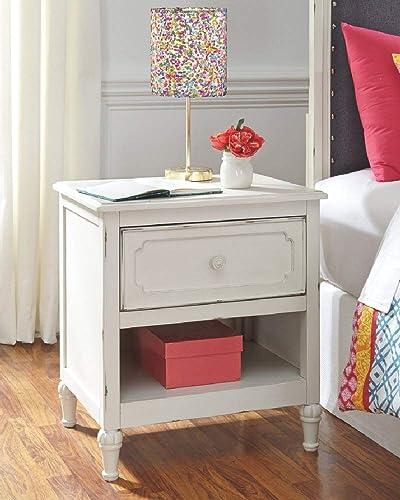 Signature Design by Ashley Faelene dressers, Chipped White