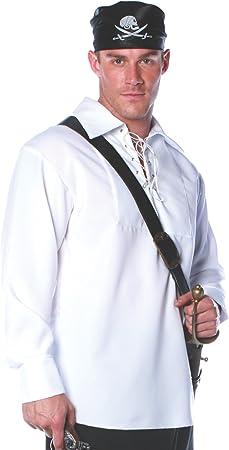 Camisa de pirata adulto y XXL