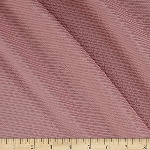 TELIO High Low Pique Knit Dusty Pink Fabric By The Yard