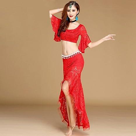 Amazon.com: Xueyanwei - Falda profesional para danza del ...