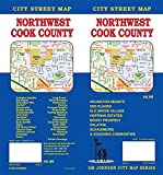 Cook County Northwest, Illinois Street Map