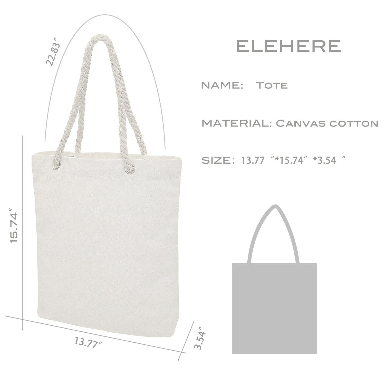 Elehere Custom Tote Bag Crystal Cotton Bags Rhinestone Bridal Shower Bachelorette Party Gift (Crystal - Bride)