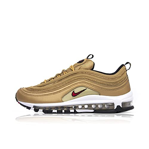 Nike Air Max 97 Woman OG QS 885691 700 Metallic Gold Varsity
