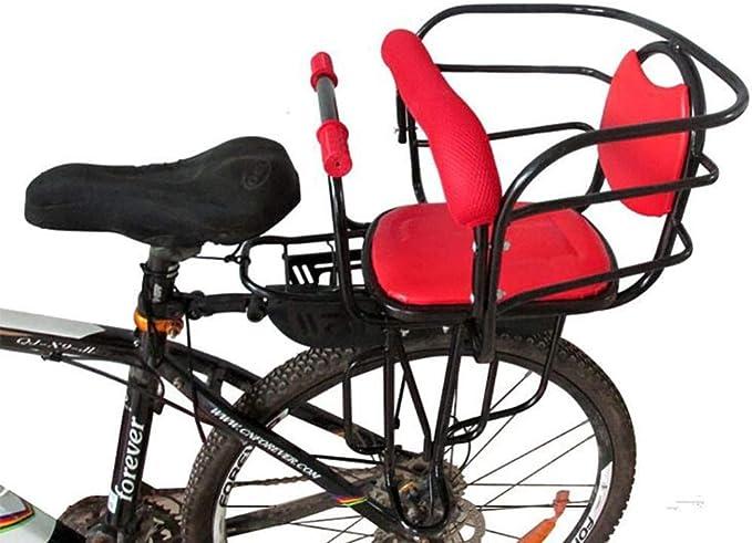 SBZYH Asiento De Bicicleta para Niños Respaldo De Apoyo Bicicleta ...