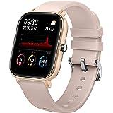 KOSCHEAL Smartwatch Impermeable Reloj Inteligente Deportivo, Pulsera Inteligente con Más de 20 Opciones de Estilo de Interfaz
