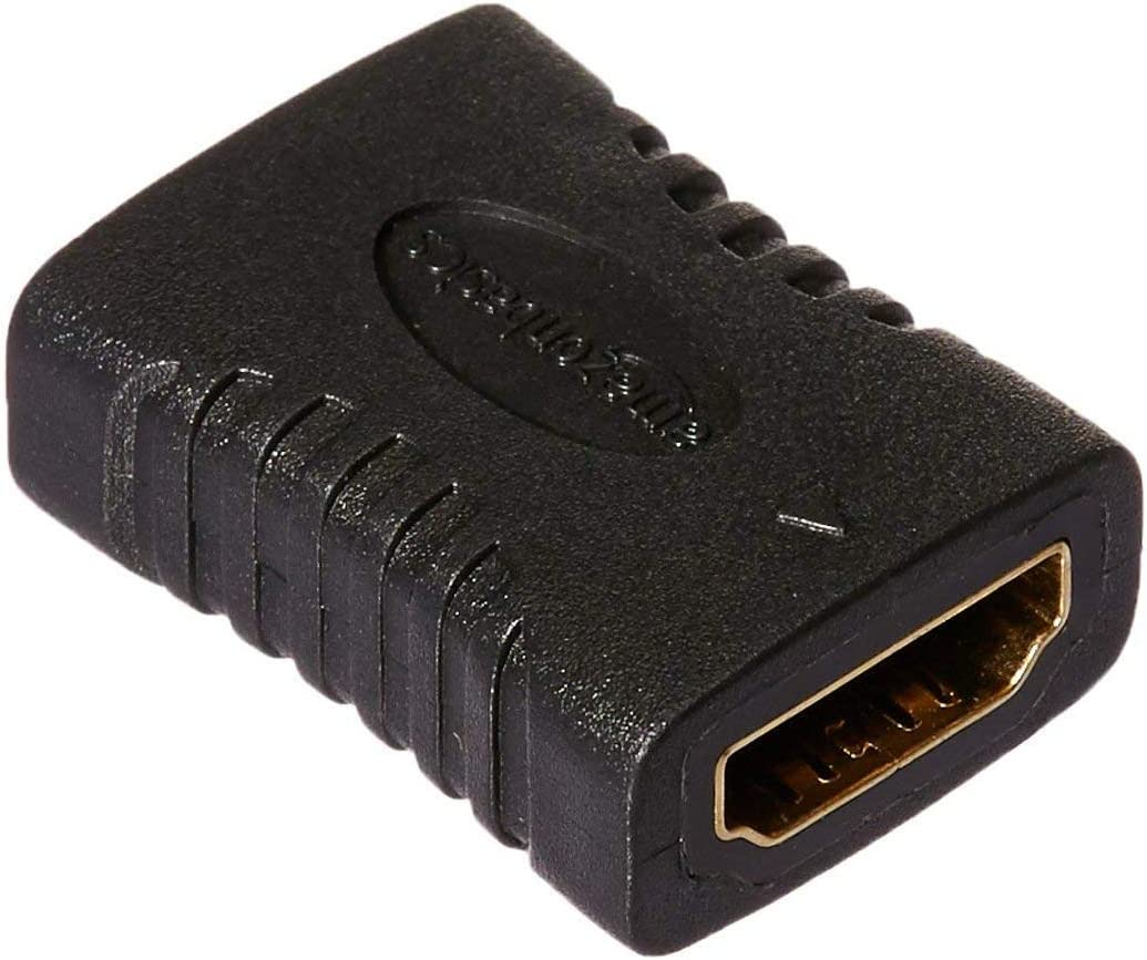AmazonBasics - Adaptador HDMI, 29 x 22 mm, Negro: Amazon.es ...