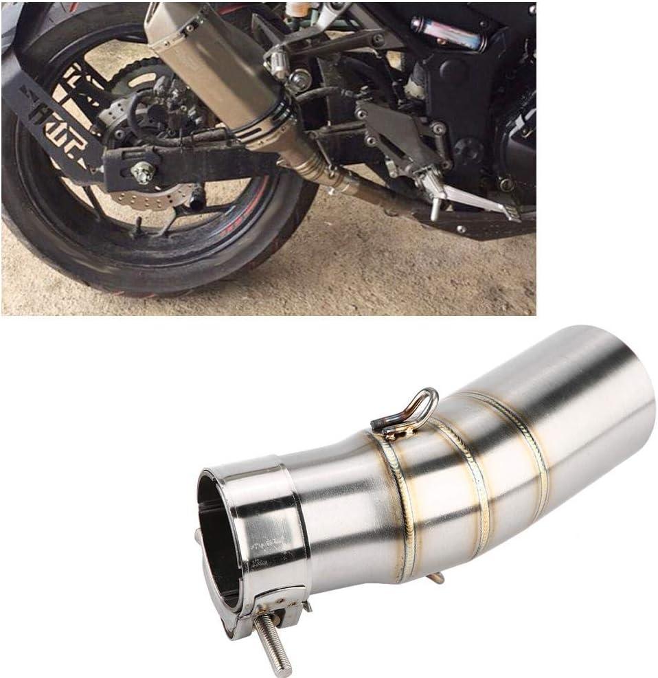 Auspuffrohr Motorrad Auspuff Mittleres Rohr Motorrad Zubehör Edelstahl Auspuff Mittleres Mittleres Verbindungsrohr Auto