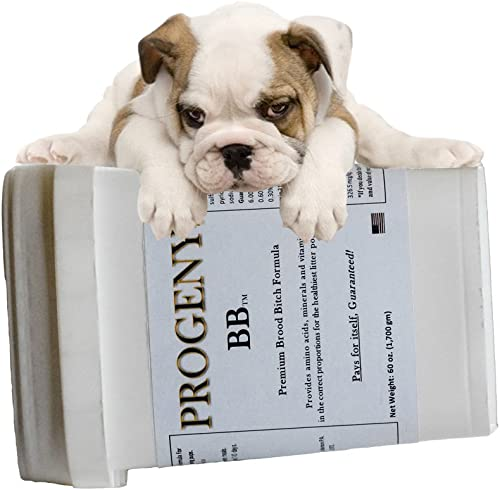 Progeny Dog Breeding Supplement Premium Nutrition for Dam and Puppy Health – Amino Acids, Vitamins, Minerals, Prebiotic – Be Certain Your Pups Have The Nutrients They Need to Thrive.
