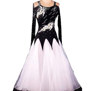 Amazoncom Full Nice Womens Ballroom Dance Competition Dress