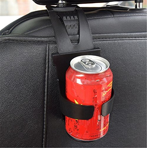 Fochutech Car Cup Holder Pocket Organizer Back Seat Hanging Inside Out Interior Accessories Stop Drop for Drinks Wallet Phone Coins