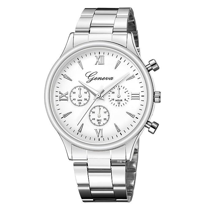 Amazon.com: Yaida Reloj de pulsera analógico de cuarzo de ...