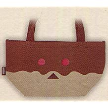 Taito lottery Honpo Dumbo over donut lottery lunch bag Prize Brown & Red Eye