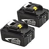 マキタ18V バッテリー 6.0Ah BL1860 対応互換品 BL1830 BL1840 BL1850 リチウムイオン電池 安心の1年保証(2個セット)