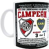 Gio Gifts River Plate Argentina Futbol Soccer Mug Campeon 2018 Copa Libertadores Souvenir