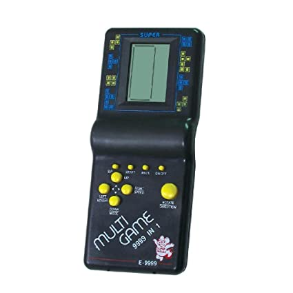 Tukknu Hand Held 9999 In 1 Battery Operated Brick Game Set For Kids-  Multicolor