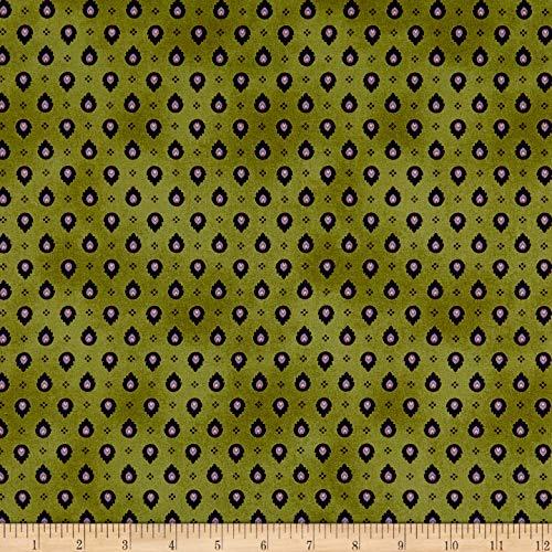 - Maywood Studio Foulard Light Fabric, Aubergine, Fabric By The Yard