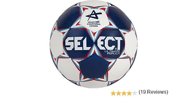 SELECT Balón de Balonmano Ultimate Replica CL, Blanco/: Amazon.es ...