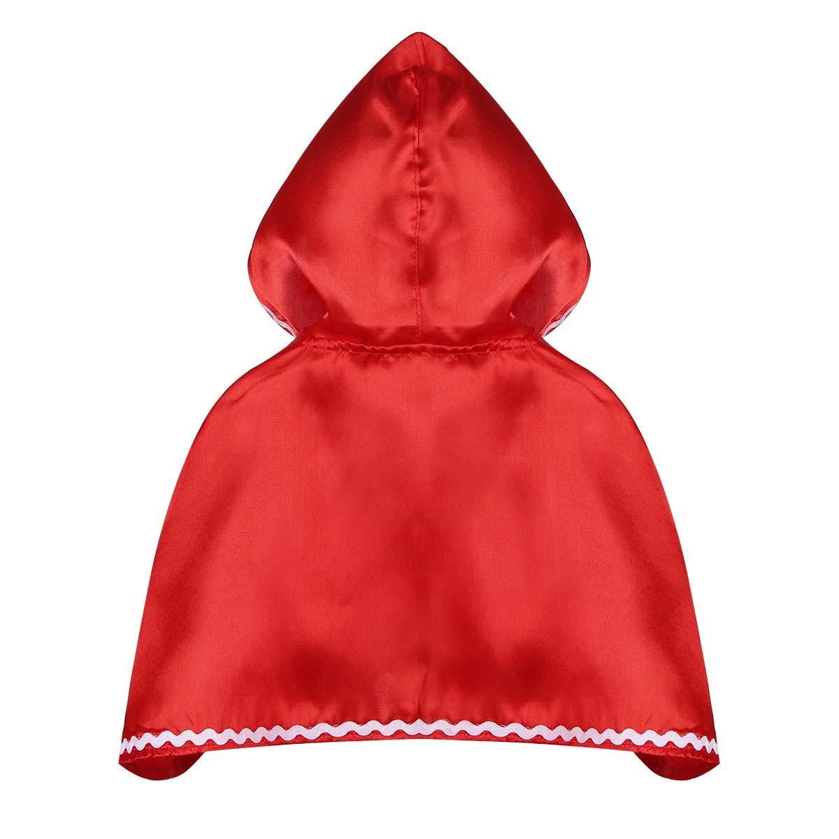 ranrann Disfraz de Caperucita Roja para Niña Cosplay Traje Fairy ...